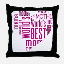 World's Best Mother Throw Pillow