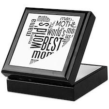 World's Best Mother Keepsake Box