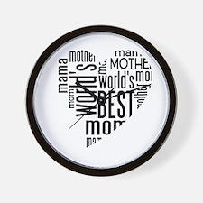 World's Best Mother Wall Clock