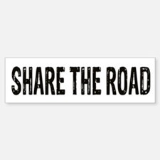 Share The Road Bumper Bumper Bumper Sticker