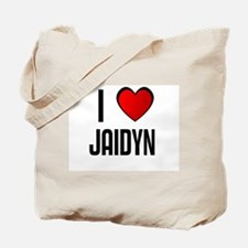 I LOVE JAIDYN Tote Bag