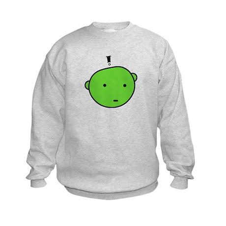 GREEN SURPRISE Kids Sweatshirt