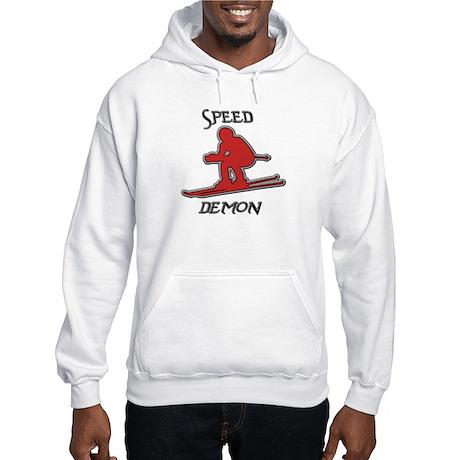 Snow Board Hooded Sweatshirt