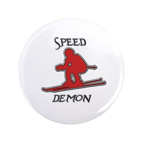 """Snow Board 3.5"""" Button (100 pack)"""