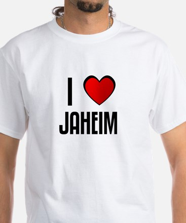 I LOVE JAHEIM White T-Shirt