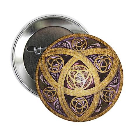 Celtic Sun Button