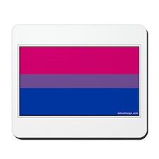 Bi-Sexual Pride Flag Mousepad