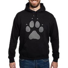 Wolf Paw Print Hoodie