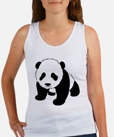 Cute Baby Panda Women's Tank Top