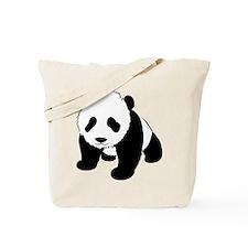 Cute Baby Panda Tote Bag