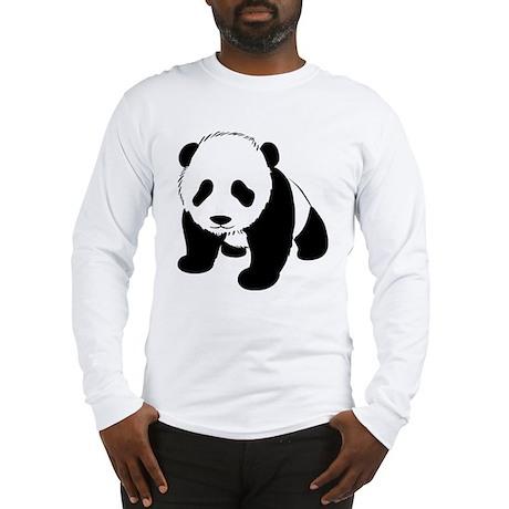Cute Baby Panda Long Sleeve T-Shirt