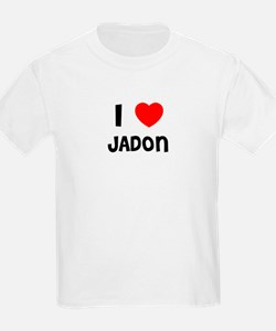 I LOVE JADON Kids T-Shirt