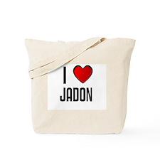 I LOVE JADON Tote Bag