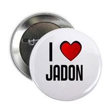 I LOVE JADON Button