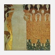 Gustav Klimt Art Tile Coaster Beethoven Frieze 1/2