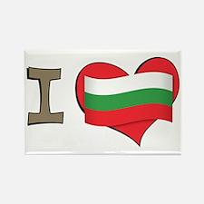 I heart Bulgaria Rectangle Magnet