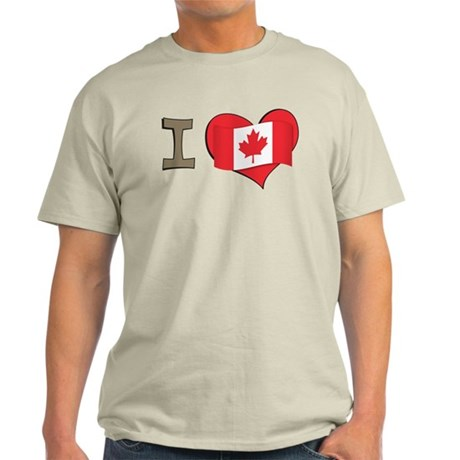 I heart Canada Light T-Shirt