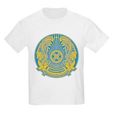 Kazakhstan Coat Of Arms Kids T-Shirt