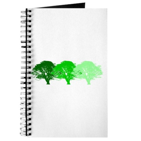 3 Trees Silhouette Journal
