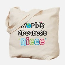 World's Greatest Niece! Tote Bag