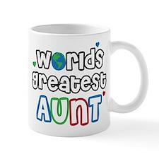 World's Greatest Aunt! Mug