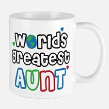 World's Greatest Aunt! Mug