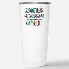 World's Greatest Aunt! Travel Mug