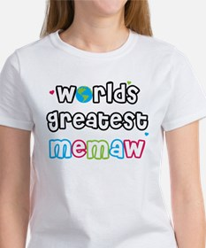 World's Greatest Memaw! Tee