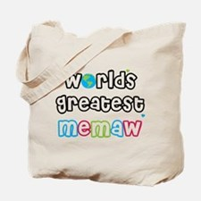 World's Greatest Memaw! Tote Bag