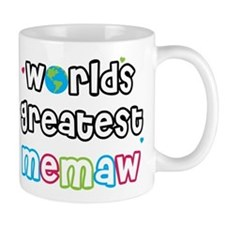 World's Greatest Memaw! Small Mugs