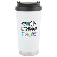 World's Greatest Memaw! Travel Mug
