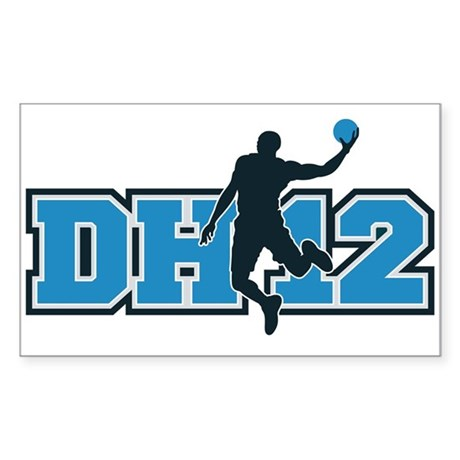 DH12 Rectangle Sticker