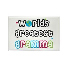 World's Greatest Gramma! Rectangle Magnet