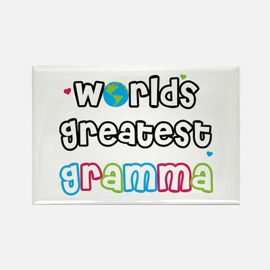 World's Greatest Gramma! Rectangle Magnet