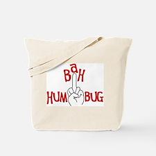 bah humbug finger Christmas Tote Bag