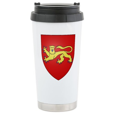Duchy of Aquitaine Stainless Steel Travel Mug