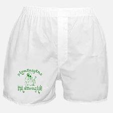 Shenanigans Irish Watering Ho Boxer Shorts