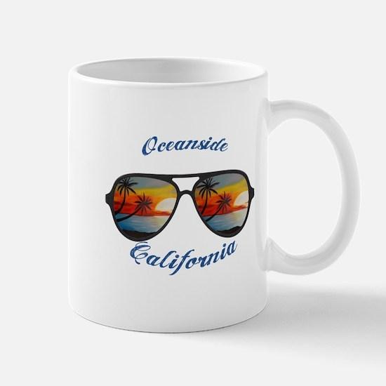 California - Oceanside Mugs