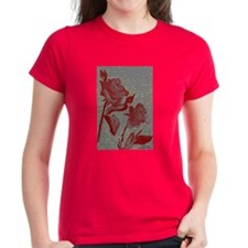 Women's Dark Blood Roses T-Shirt