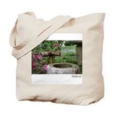 Bamboo Water Basin Tote Bag