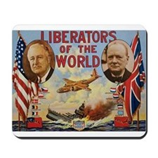 FDR & Churchill Mousepad