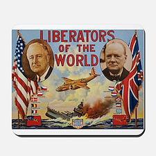 FDR & Churchill Mousepad