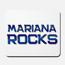 mariana rocks Mousepad