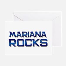 mariana rocks Greeting Card