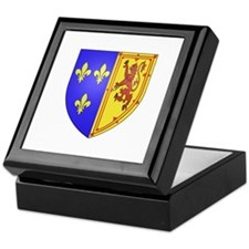 Mary, Queen of Scots Keepsake Box