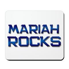 mariah rocks Mousepad