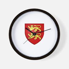Duchy of Normandy Wall Clock