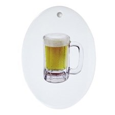 The Beer Oval Ornament