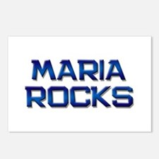maria rocks Postcards (Package of 8)