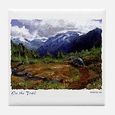 Cute Aspen grove Tile Coaster